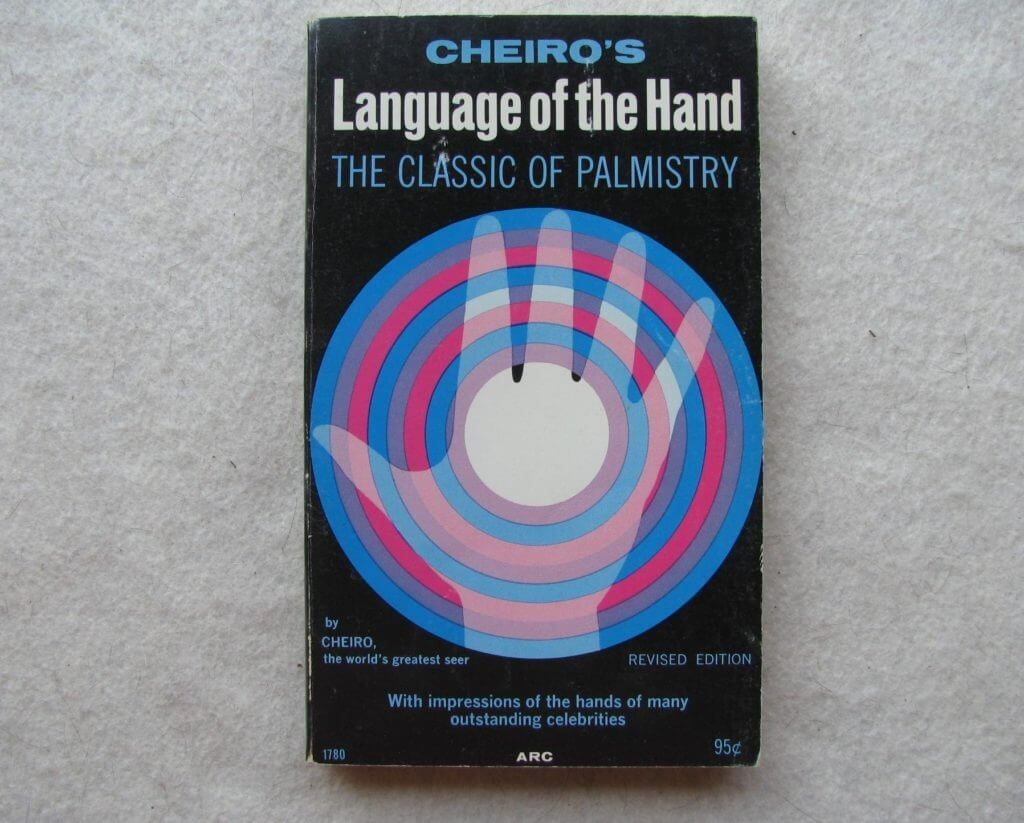 Cheiro's Language of the hand palmistry