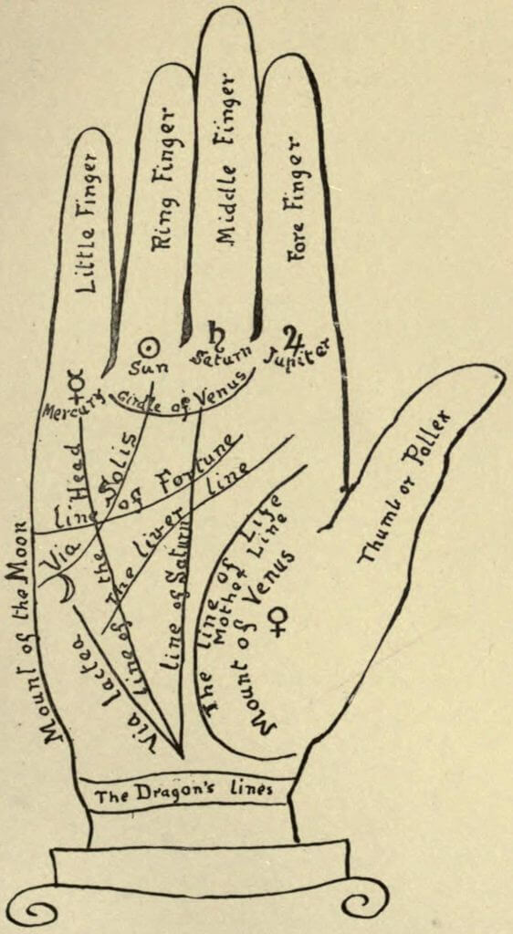 Lines in palmistry